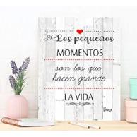 cartel con frase motivadora para decorar